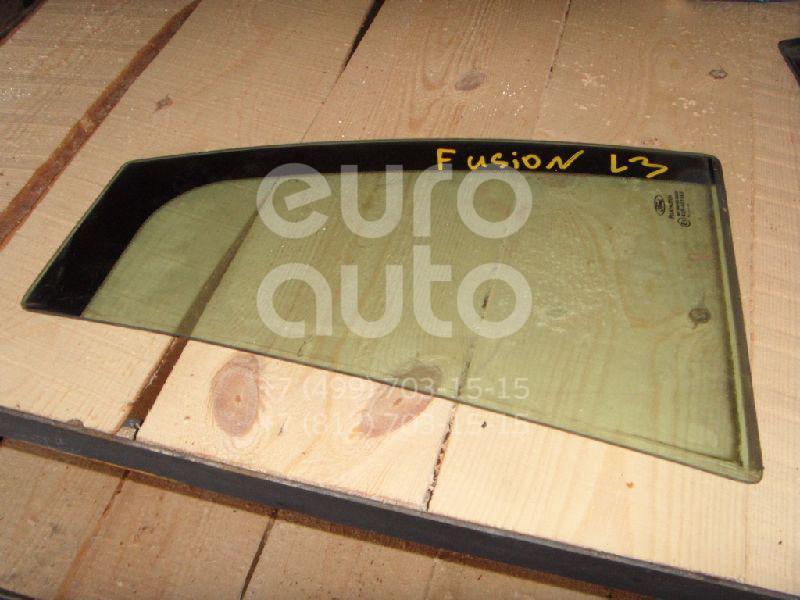 Стекло двери задней левой (форточка) для Ford Fusion 2002> - Фото №1
