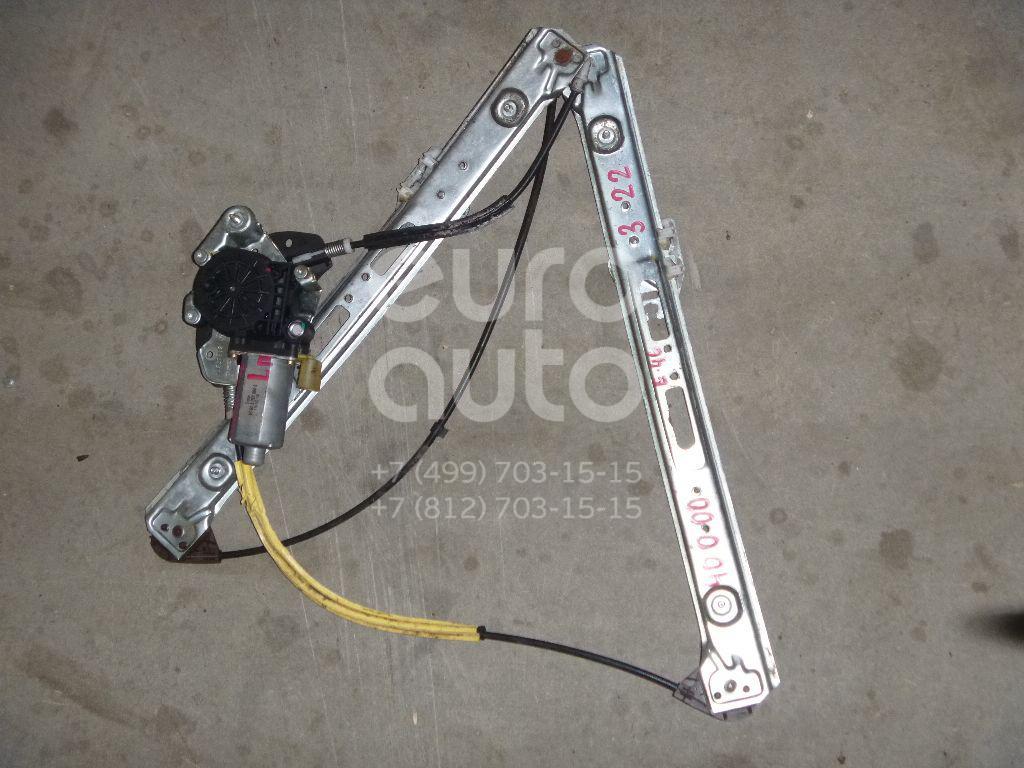 Стеклоподъемник электр. передний левый для BMW 3-серия E46 1998-2005 - Фото №1