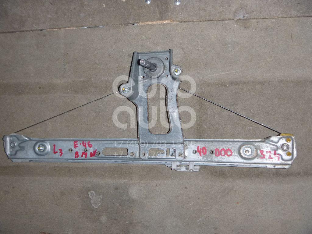 Стеклоподъемник механ. задний левый для BMW 3-серия E46 1998-2005 - Фото №1