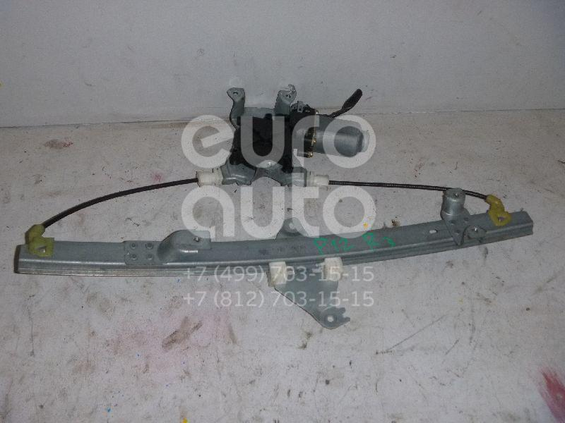 Стеклоподъемник электр. задний правый для Nissan Primera P12E 2002-2007 - Фото №1