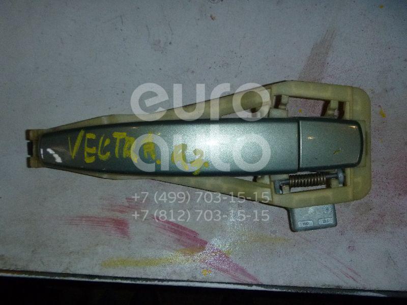 Ручка двери задней наружная правая для Opel Vectra C 2002-2008 - Фото №1