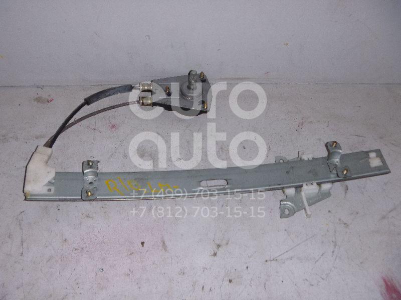 Стеклоподъемник механ. передний левый для Kia RIO 2000-2004 - Фото №1