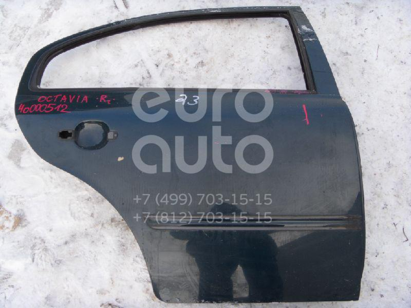 Дверь задняя правая для Skoda Octavia 1997-2000;Octavia (A4 1U-) 2000-2011 - Фото №1