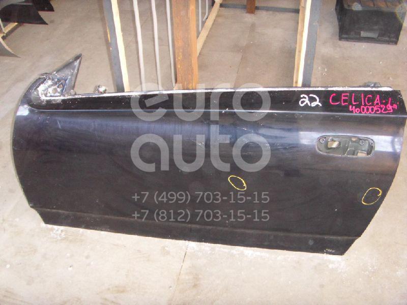 Дверь передняя левая для Toyota Celica (ZT23#) 1999-2005 - Фото №1