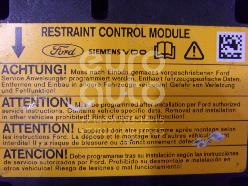 Блок управления AIR BAG для Ford,Mazda Fiesta 2001-2008;Fusion 2002-2012;Mazda 2 (DY) 2003-2006 - Фото №1