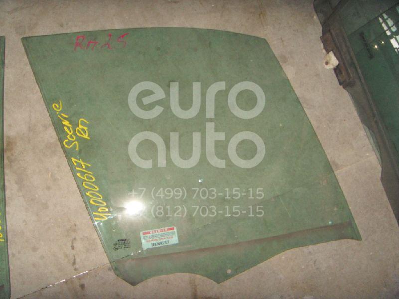 Стекло двери передней правой для Renault Scenic II 2003-2009 - Фото №1