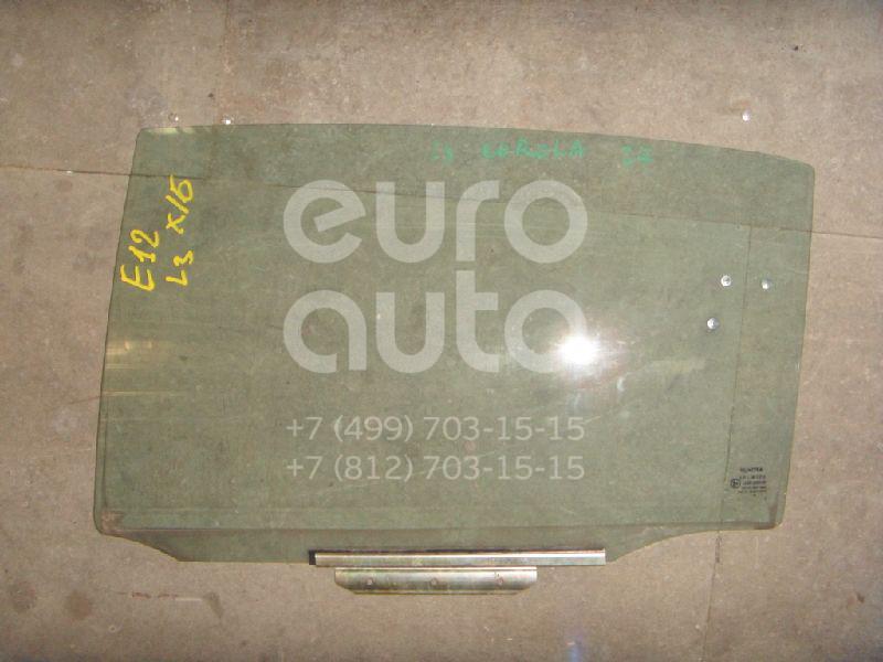 Стекло двери задней левой для Toyota Corolla E12 2001-2006 - Фото №1