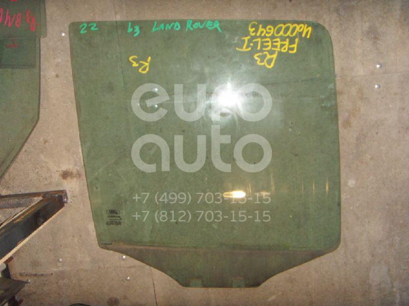 Стекло двери задней правой для Land Rover Freelander 1998-2006 - Фото №1