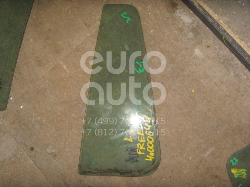 Стекло двери задней левой (форточка) для Land Rover Freelander 1998-2006 - Фото №1