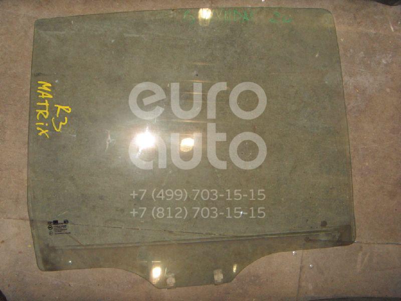 Стекло двери задней правой для Hyundai Matrix 2001-2010 - Фото №1