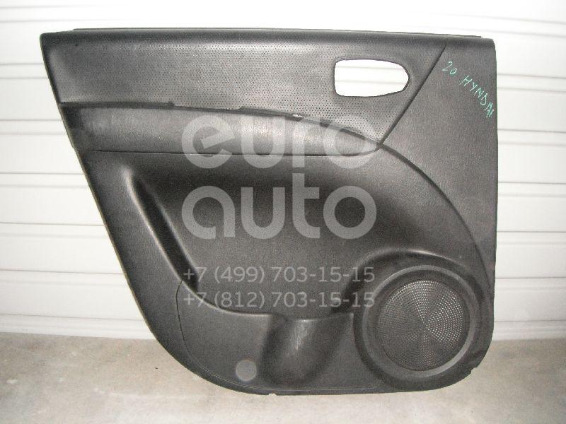 Обшивка двери задней левой для Hyundai Matrix 2001-2010 - Фото №1