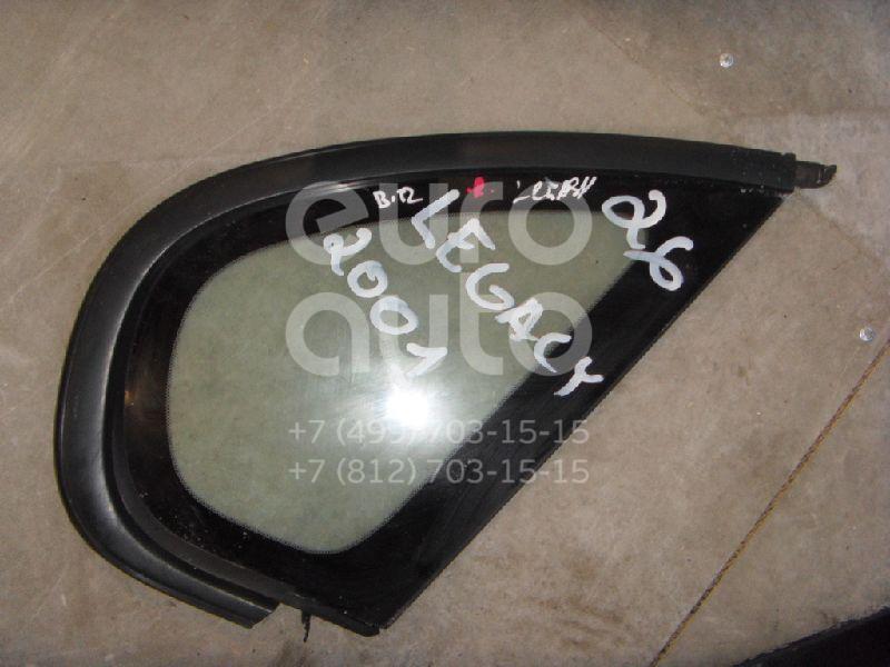 Стекло кузовное глухое правое для Subaru Legacy (B12) 1998-2003 - Фото №1