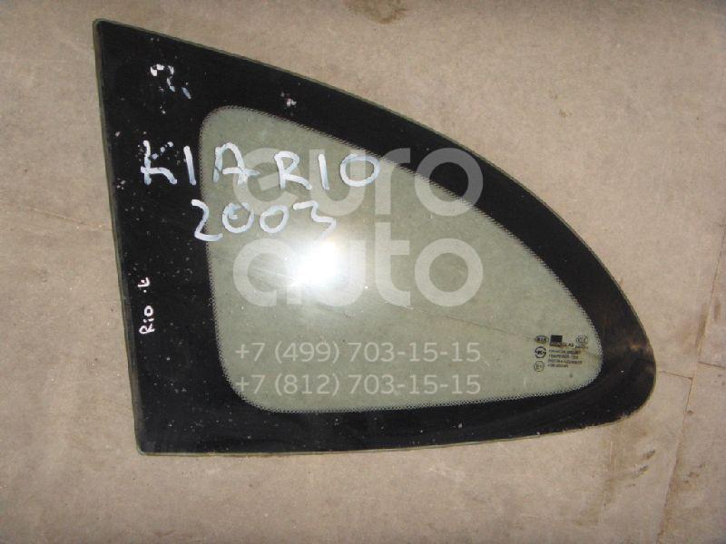 Стекло кузовное глухое левое для Kia RIO 2000-2004 - Фото №1
