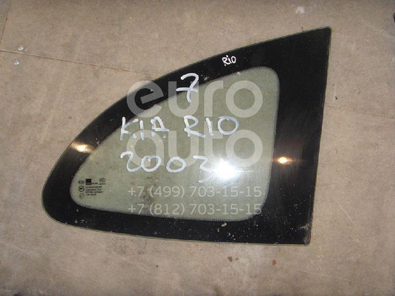 Стекло кузовное глухое правое для Kia RIO 2000-2004 - Фото №1