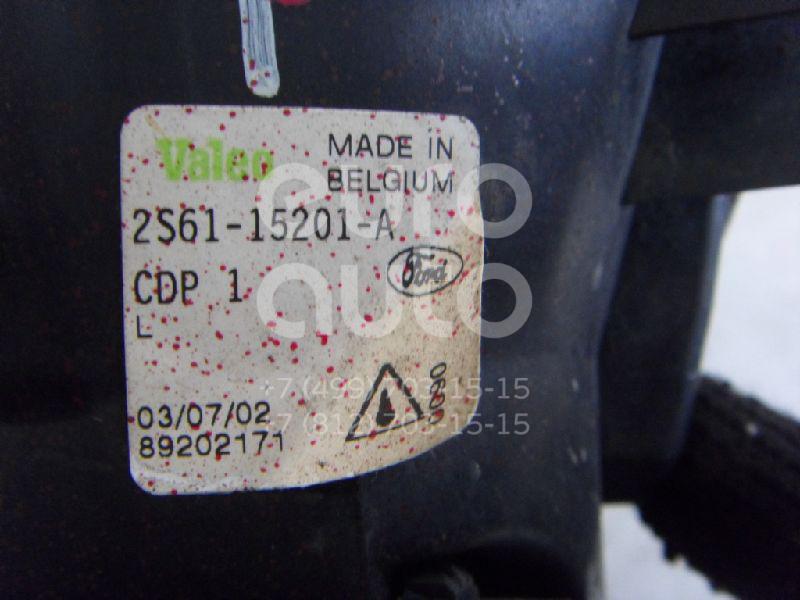 Фара противотуманная левая для Ford Fiesta 2001-2008 - Фото №1