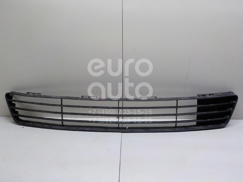Решетка в бампер центральная для Ford Fiesta 2001-2007 - Фото №1