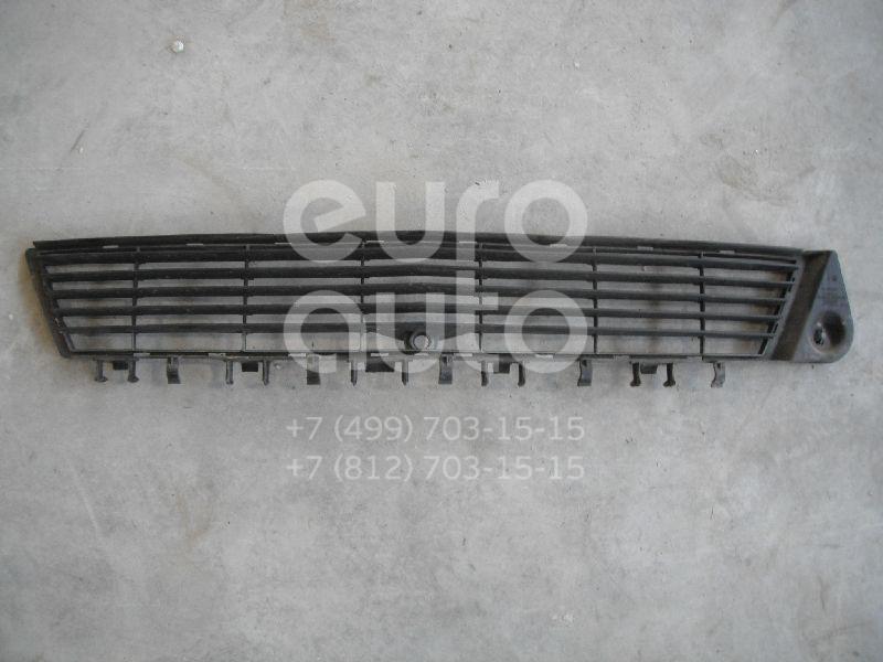 Решетка в бампер центральная для Opel Vectra C 2002-2008 - Фото №1