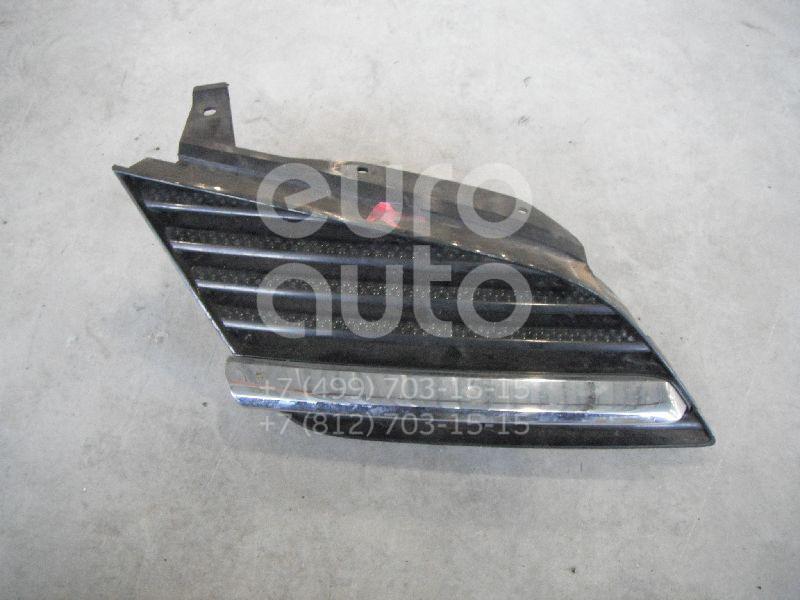 Решетка радиатора правая для Nissan Primera P12E 2002-2007 - Фото №1