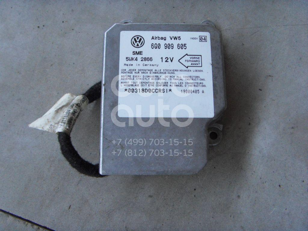 Купить Блок управления AIR BAG VW Sharan 2000-2004; (6Q0909605)