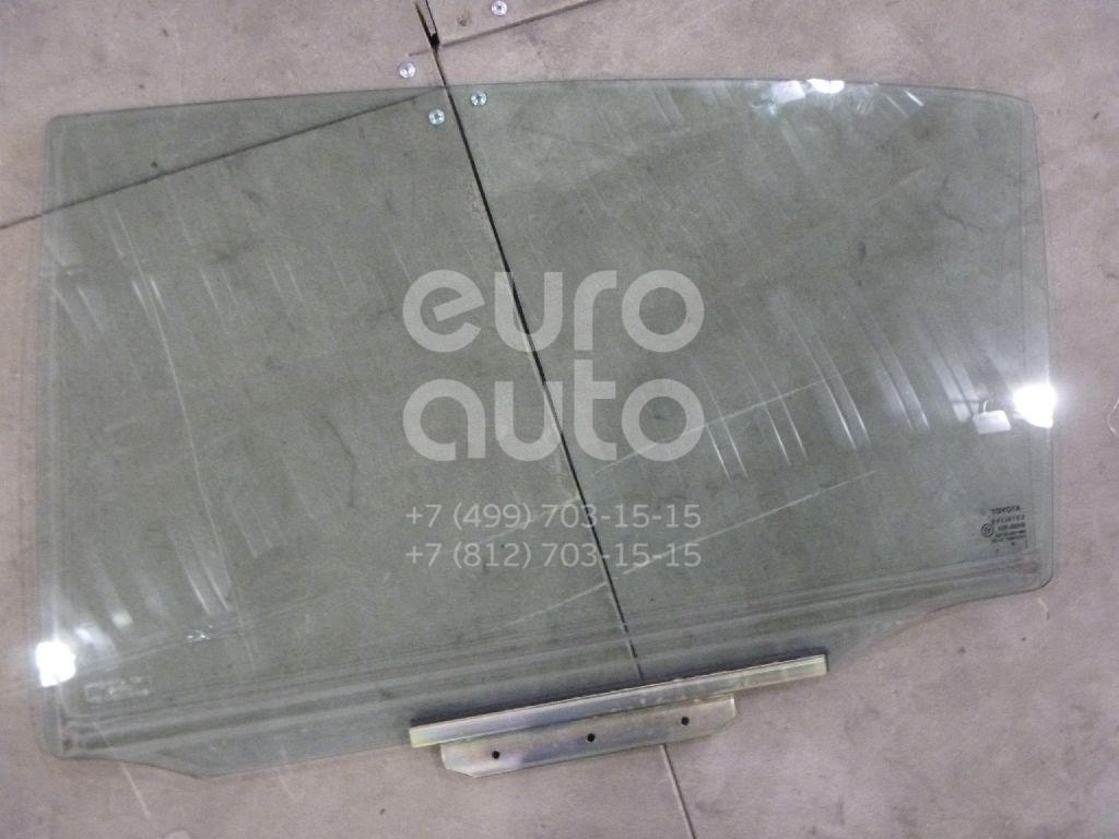 Купить Стекло двери задней левой Toyota Corolla E12 2001-2007; (6810402080)