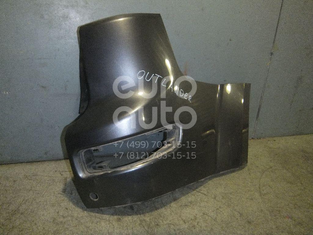 Купить Накладка заднего бампера правая Mitsubishi Outlander XL (CW) 2006-2012; (6410A218HA)