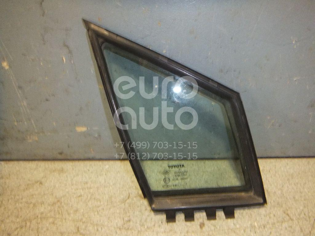 Стекло двери передней правой (форточка) Toyota CorollaVerso 2004-2009; (681250F010)  - купить со скидкой