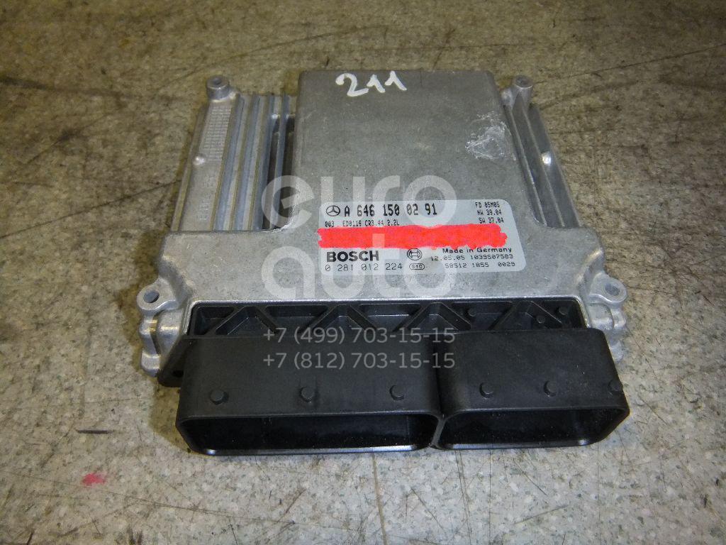 Купить Блок управления двигателем Mercedes Benz W211 E-Klasse 2002-2009; (6461500291)