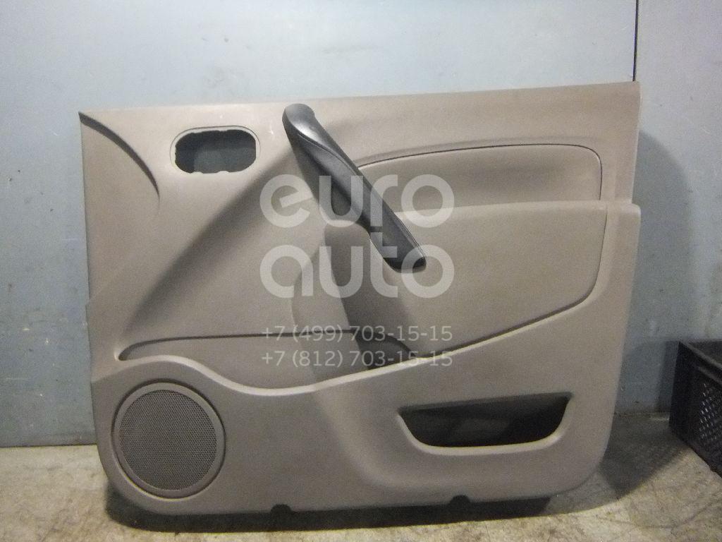 Обшивка двери передней правой Renault Kangoo 2008-; (809009586R)  - купить со скидкой