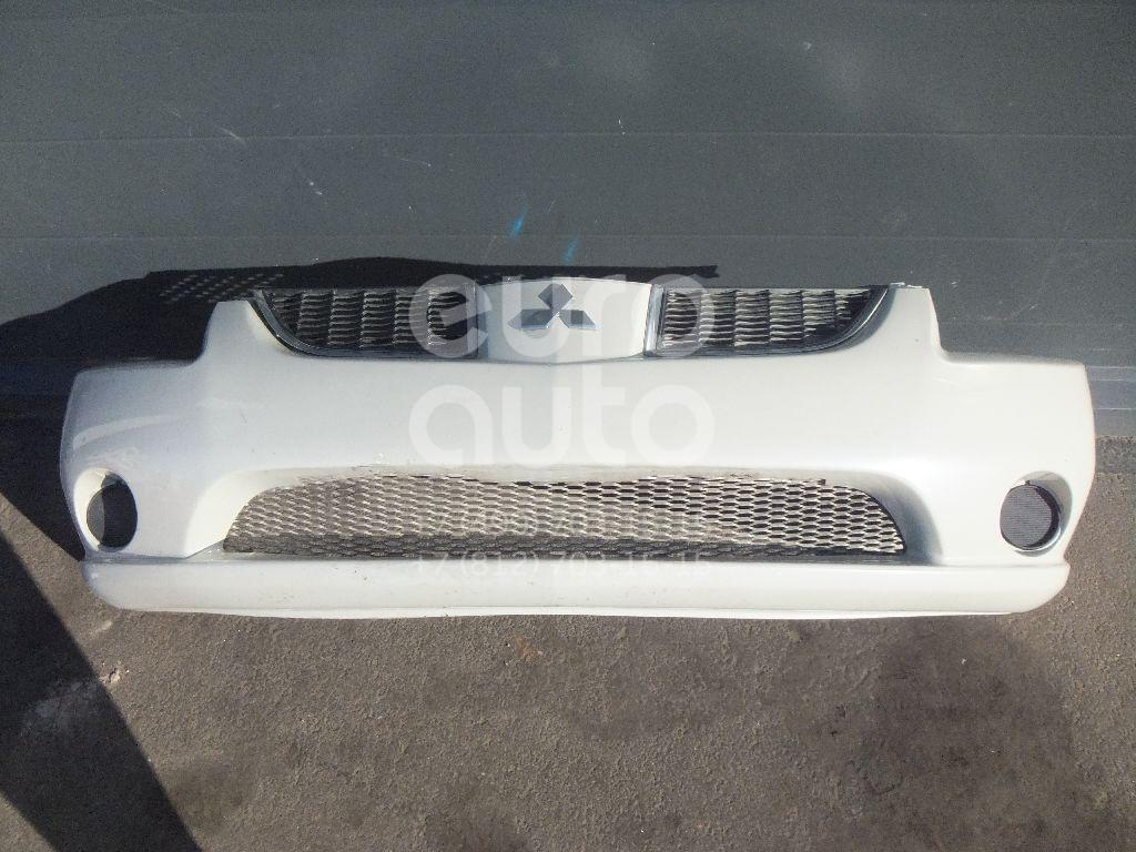 Купить Бампер передний Mitsubishi Galant (DJ, DM) 2003-2012; (6400B276)