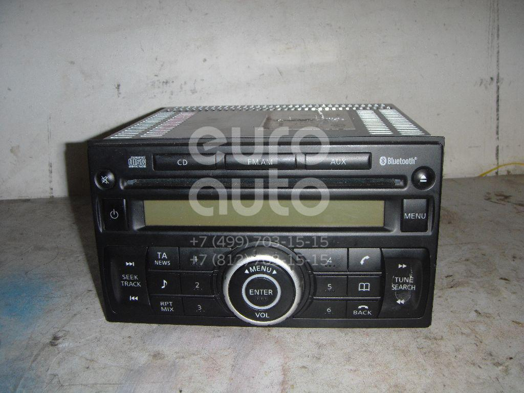 Купить Магнитола Nissan Qashqai (J10) 2006-2014; (28185JG40B)