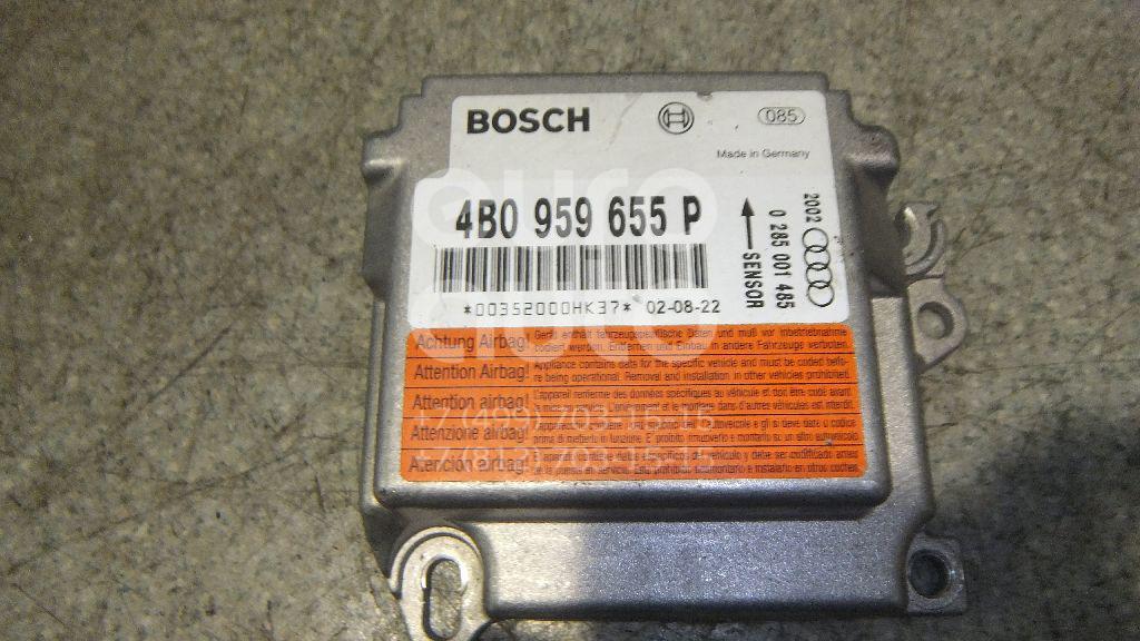 Купить Блок управления AIR BAG Audi A6 [C5] 1997-2004; (4B0959655P)