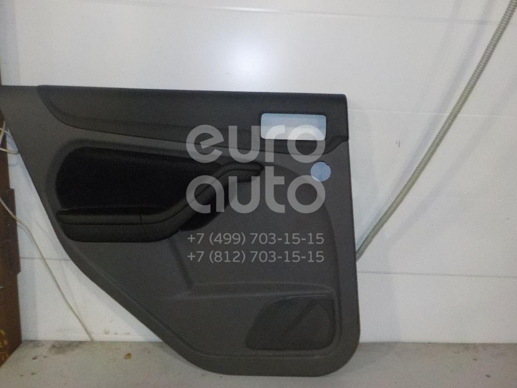 Купить Обшивка двери задней левой Ford Focus II 2008-2011; (1716726)