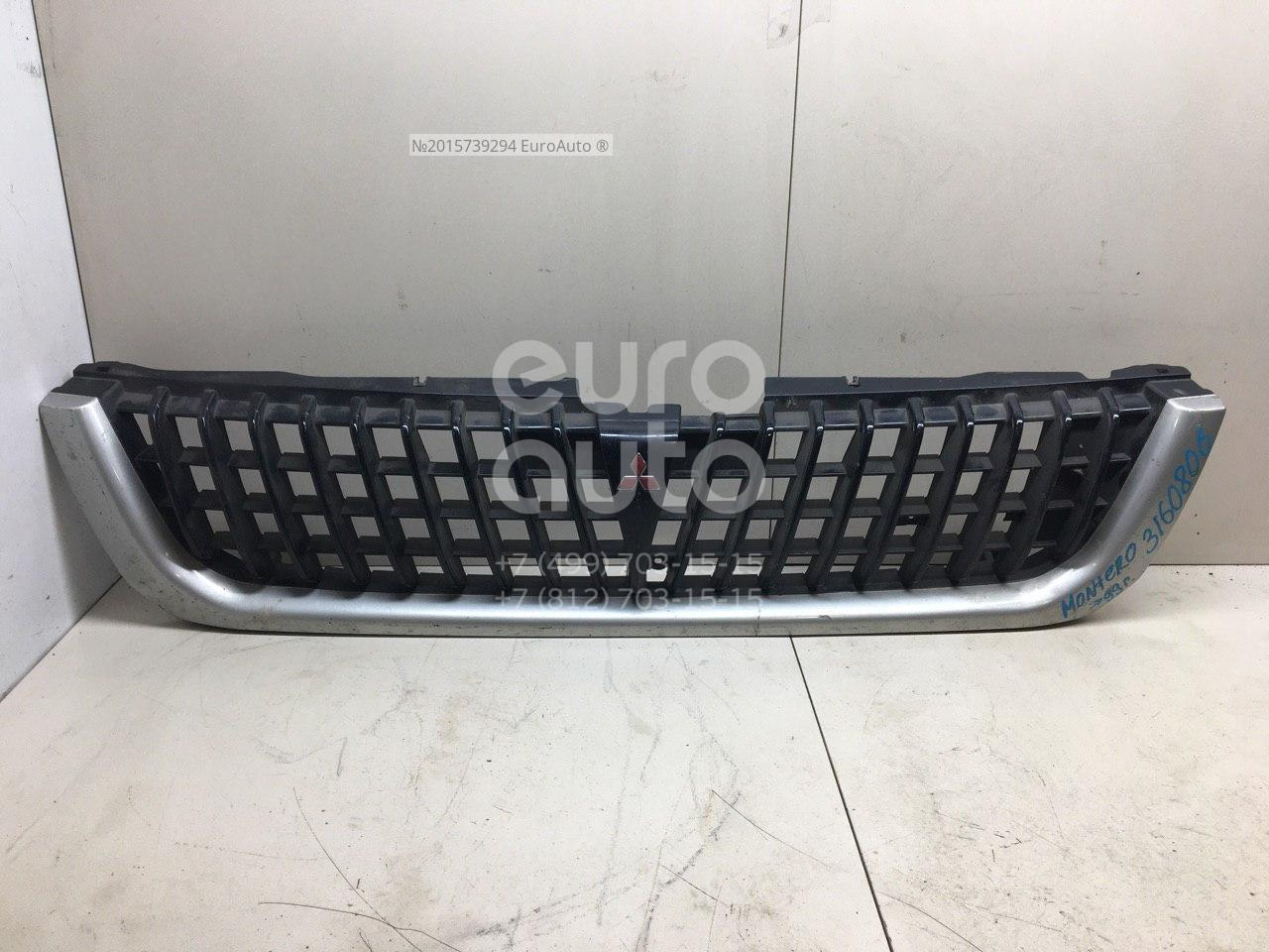 Купить Решетка радиатора Mitsubishi Pajero/Montero Sport (K9) 1997-2008; (MR221211)