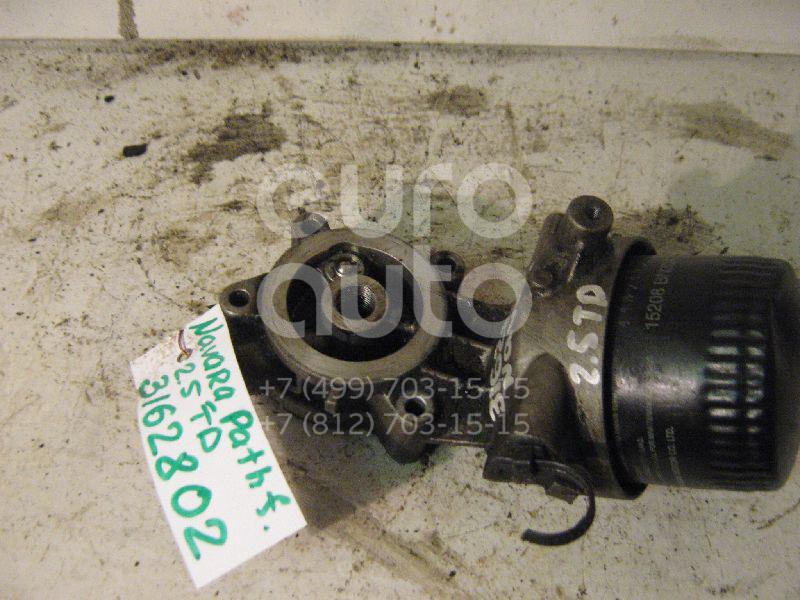 Купить Кронштейн масляного фильтра Nissan Navara (D40) 2005-2015; (15238EB30B)