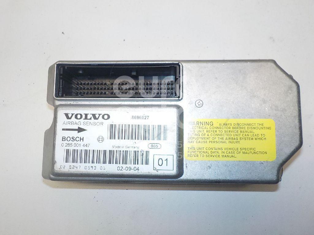 Блок управления AIR BAG Volvo XC90 2002-2015; (8696027)  - купить со скидкой