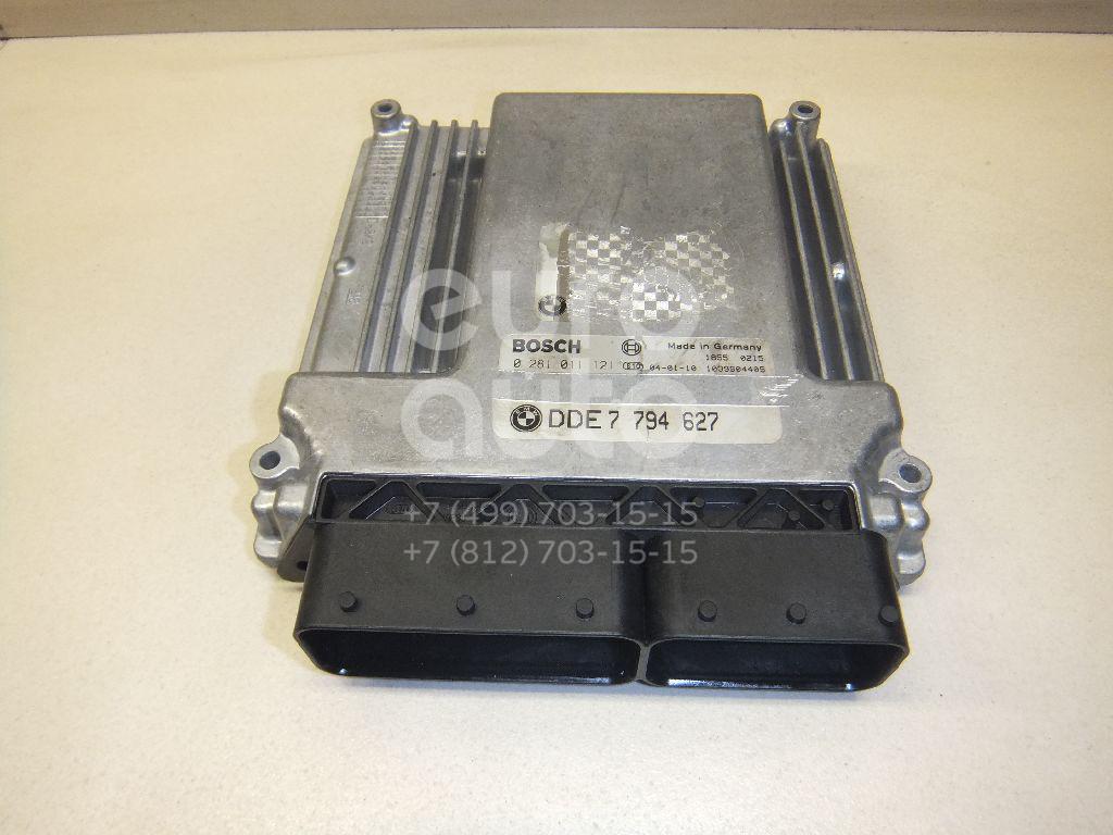 Блок управления двигателем BMW X3 E83 2004-2010; (13617794627)  - купить со скидкой