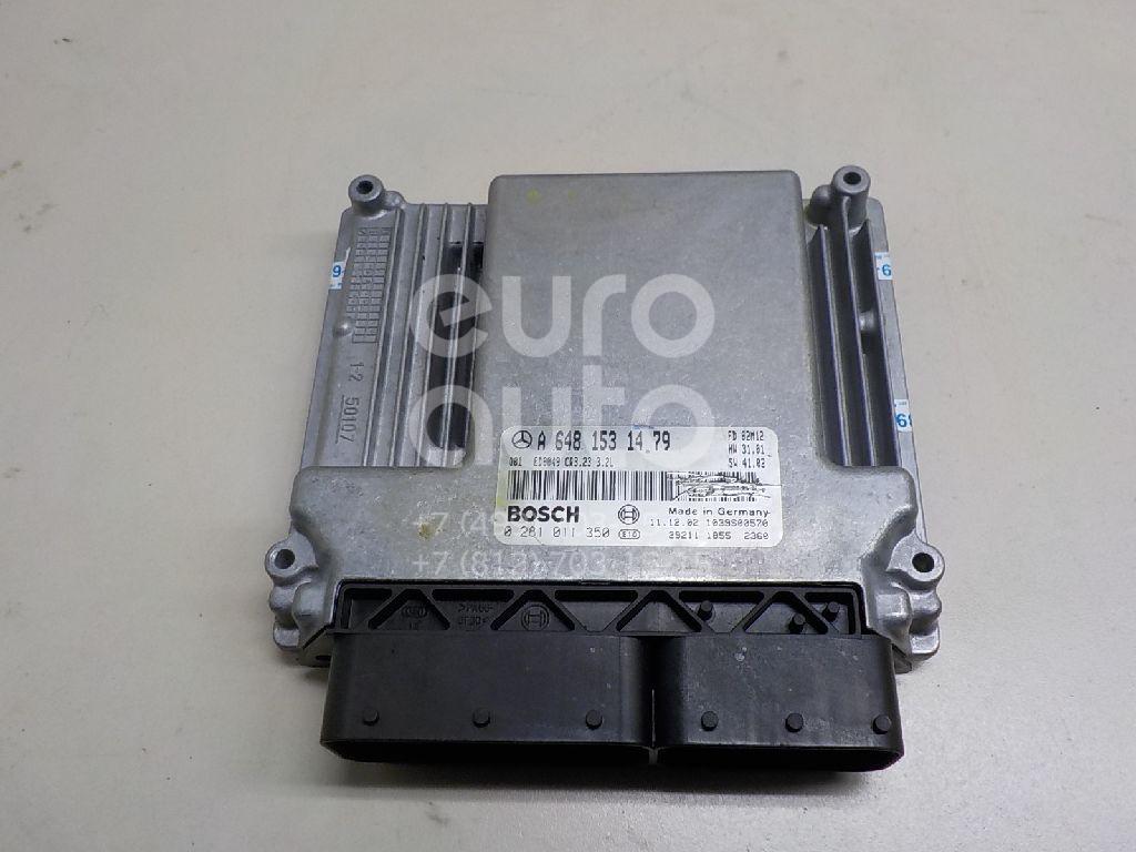 Купить Блок управления двигателем Mercedes Benz W211 E-Klasse 2002-2009; (6481531479)