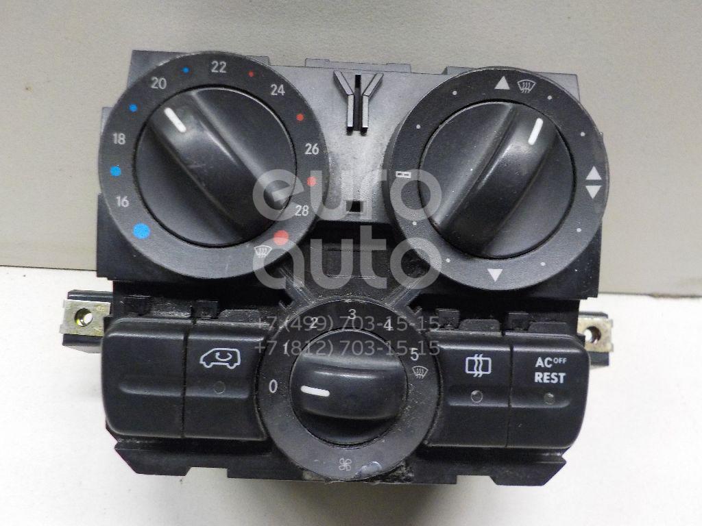 Купить Блок управления отопителем Mercedes Benz Vito/Viano-(639) 2003-2014; (6394460728)