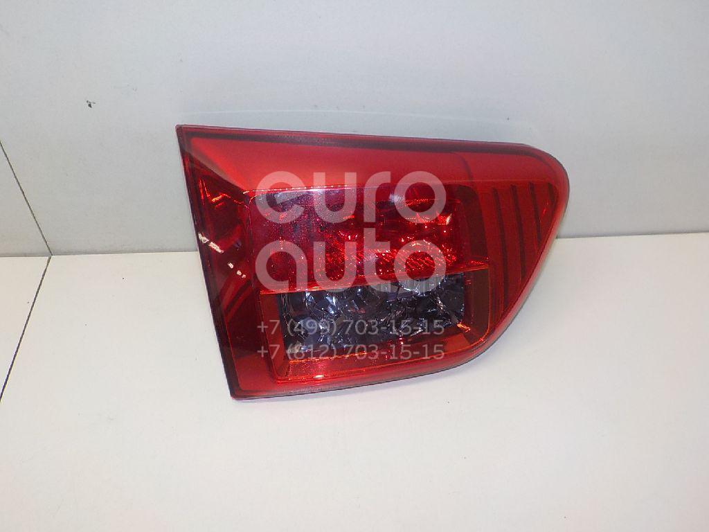 Купить Фонарь задний внутренний левый Peugeot 4007 2008-2013; (6350EJ)