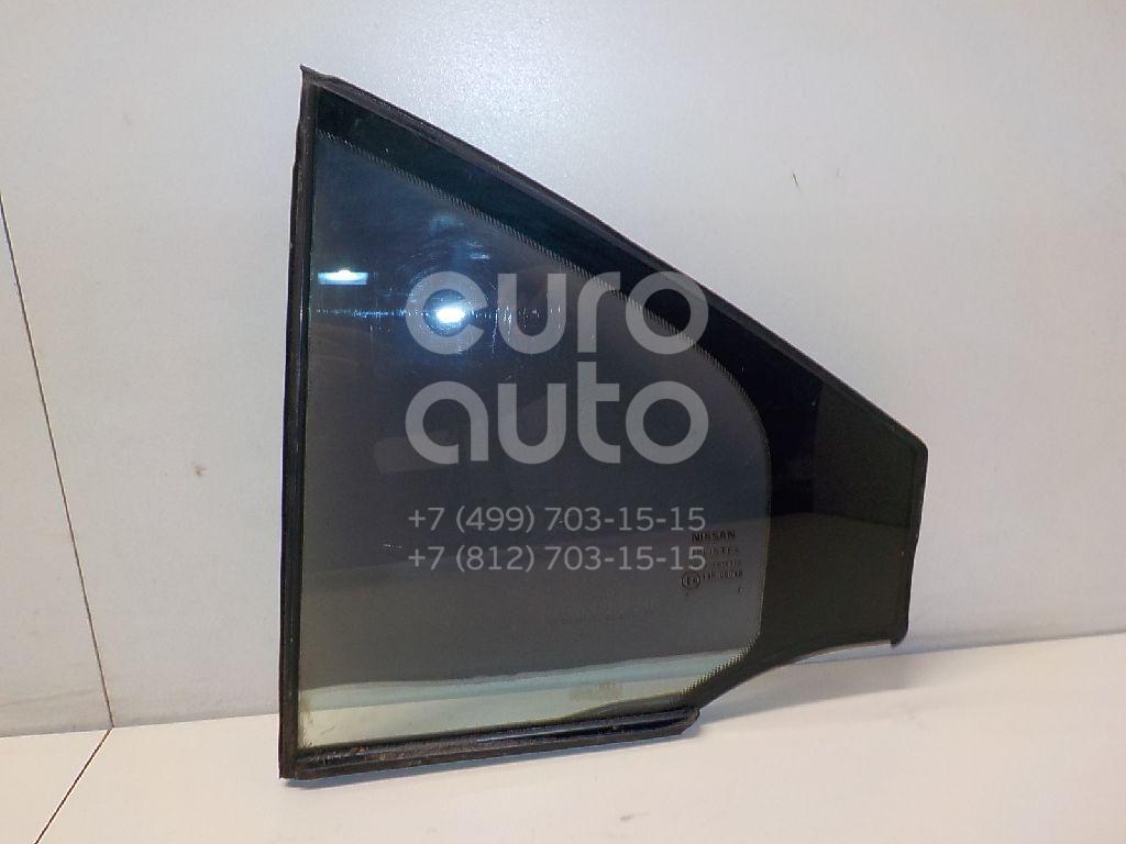 Купить Стекло двери задней левой (форточка) Nissan Primera P12E 2002-2007; (82221AV605)