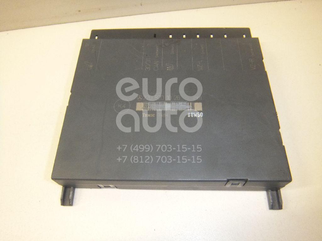 Купить Блок электронный Mercedes Benz W220 1998-2005; (2208201026)