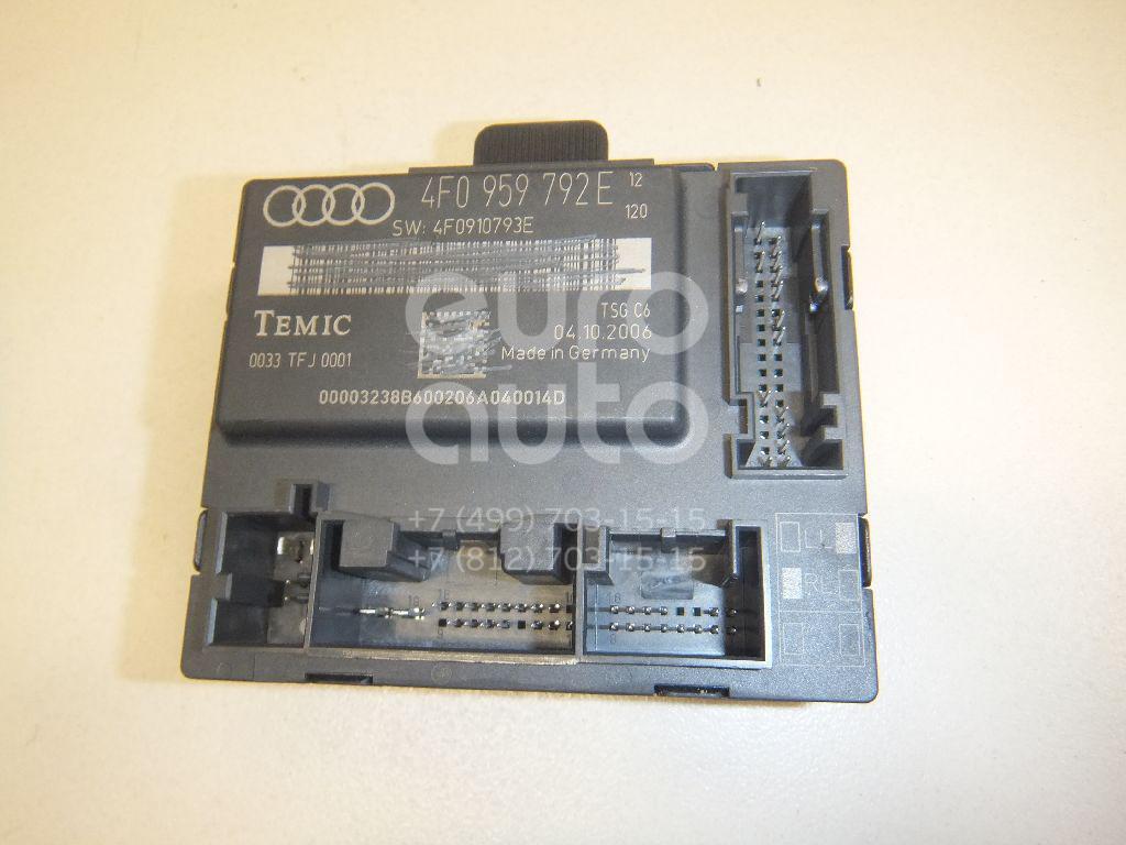 Купить Блок комфорта Audi Allroad quattro 2006-2012; (4F0959792E)