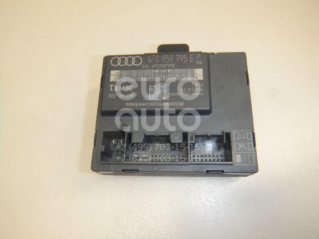 Купить Блок комфорта Audi Allroad quattro 2006-2012; (4F0959795E)