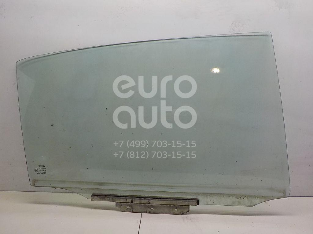 Купить Стекло двери задней правой Toyota Corolla E12 2001-2007; (6810302080)