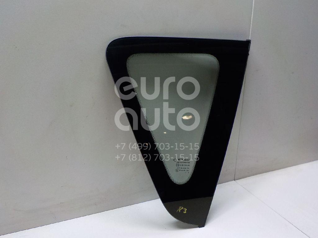 Купить Стекло кузовное глухое правое Renault Scenic III 2009-2015; (833060003R)