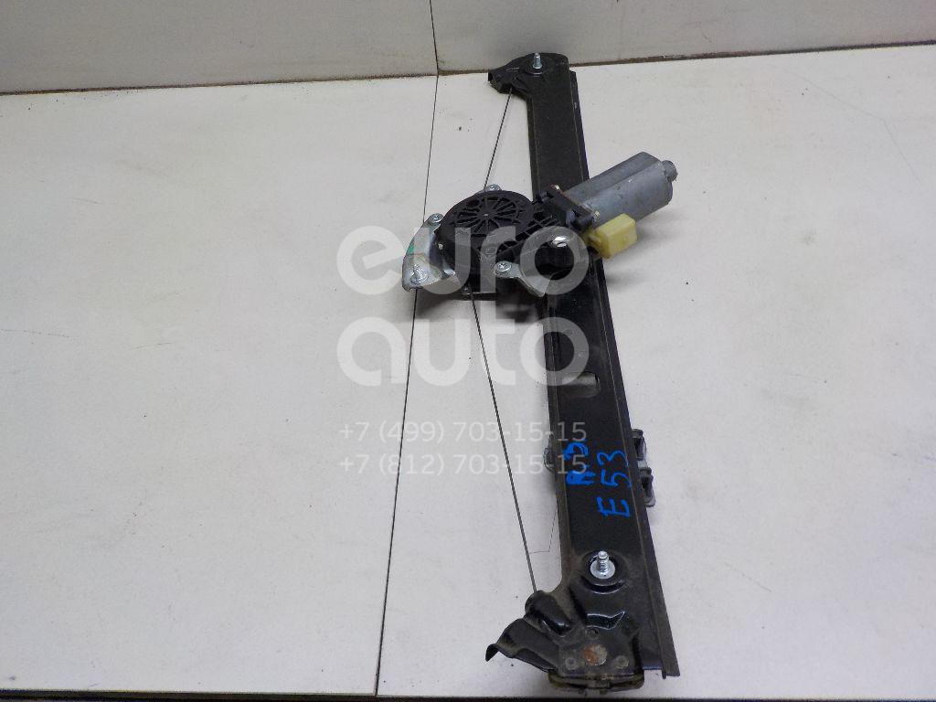 Купить Стеклоподъемник электр. задний правый BMW X5 E53 2000-2007; (51357125060)