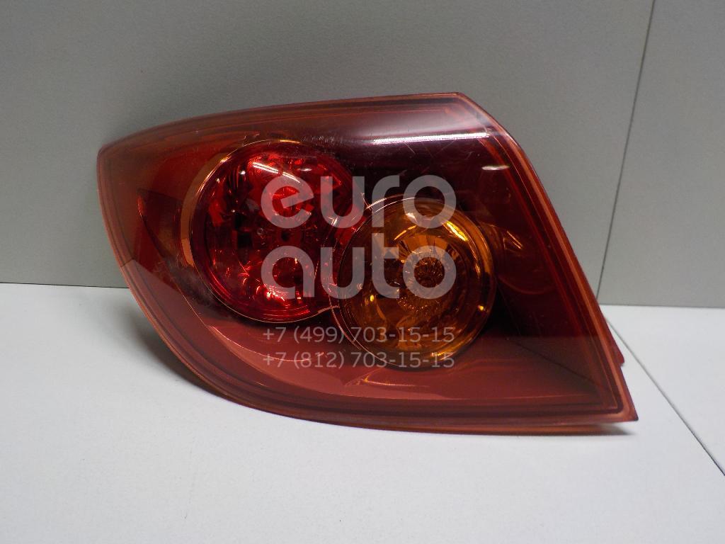Купить Фонарь задний наружный левый Mazda Mazda 3 (BK) 2002-2009; (BP4K51160E)