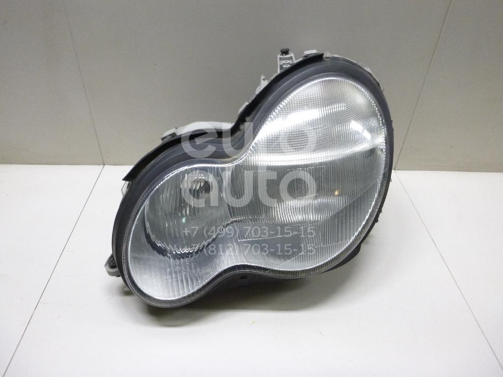 Купить Фара левая Mercedes Benz W203 2000-2006; (2038201361)