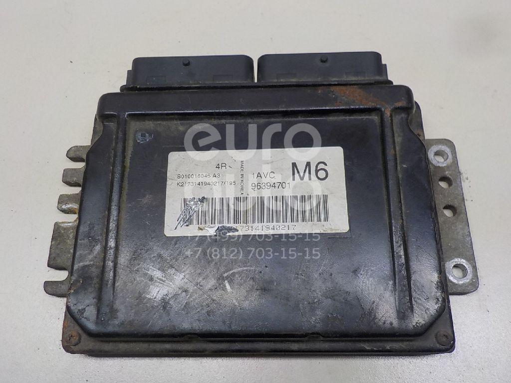 Купить Блок управления двигателем Chevrolet Lacetti 2003-2013; (96394701)