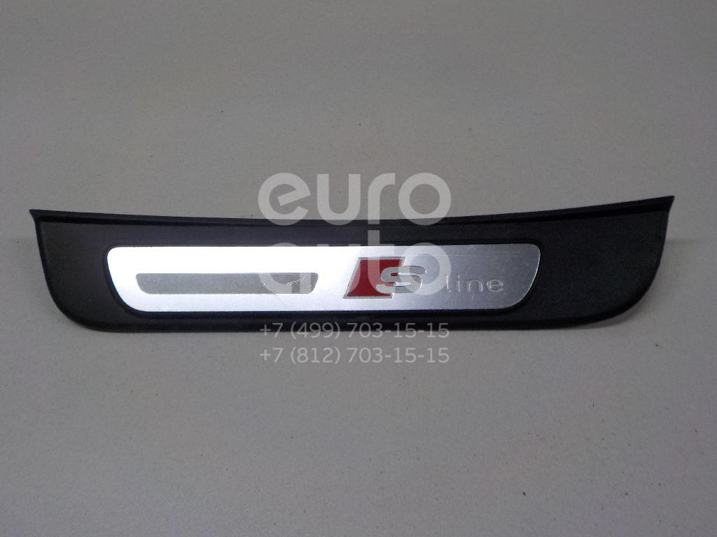 Купить Накладка порога (внутренняя) Audi A5/S5 [8T] Coupe/Sportback 2008-2016; (8T8853375B)